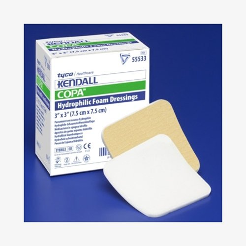 Kendall Copa Hydrophilic Foam Dressing - 4x8'' Case of 50 - KND55548_CS by Generic