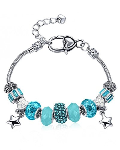 Young & Forever Women's Valentine Gifts Special Timeless Treasure Charming Charms Collection Bracelet by Young & Forever