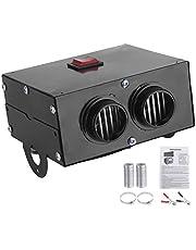 Autoverwarmer 12V 400W-600W Kachel 2 Gat Winter Snelle verwarming Voorruit Vorstverwijdering Laag geluidsniveau