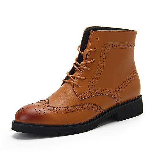 Lianaiec Herrenstiefel Bullock High High High Top Schuhe Herbst Und Winter Stiefel Jugend Stiefel Stiefel 4acdb5