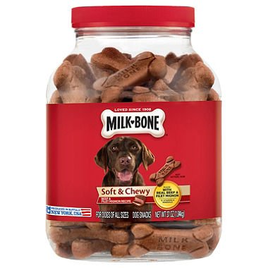 Milk Bone Soft & Chewy Dog Snacks- 2 Pack-