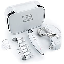 UTILYZE 10-in-1 Professional Electric Manicure & Pedicure Set, Powerful Nail Drill, 10-Speed System, Innovative Touch Control & More. File, Buff, Smooth, Shine Nails, Remove Cuticles & Callus at Home