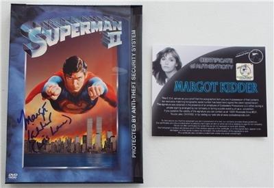 NEW SIGNED In Person MARGOT KIDDER Lois Lane SUPERMAN II DVD With (Margot Kidder Lois Lane)