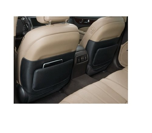 Genuine Hyundai Accessories 3N011-ADU03 Black Driver Side Seat Back Protector for Hyundai Equus