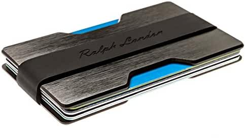 Minimalist Wallet & Front Pocket Wallet Credit Card Holder by Ralph London