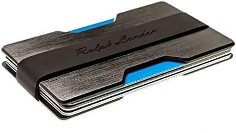 Minimalist Wallet & Front Pocket Wallet Credit Card Holder by Ralph London