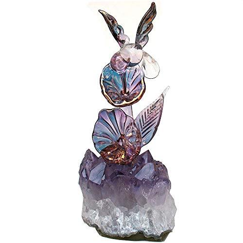 Prochaska Gallery Hand Blown Glass Hummingbird ()