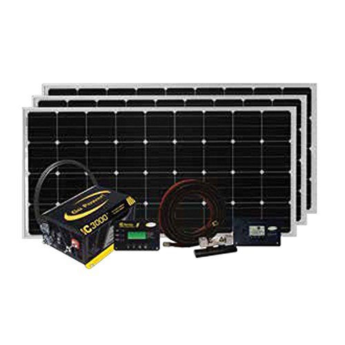 Go Power! Solar Extreme Complete Solar and Inverter System with 480 Watts of Solar