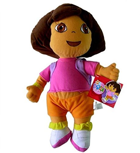 Grand 38,1cm–Jouet en peluche–Dora l'exploratrice poupée Dora sac à dos peluche Monsieur résistant –