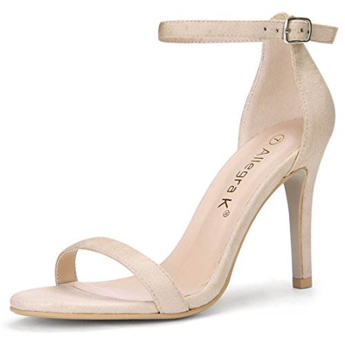 Open Toe Stiletto Heel - 1