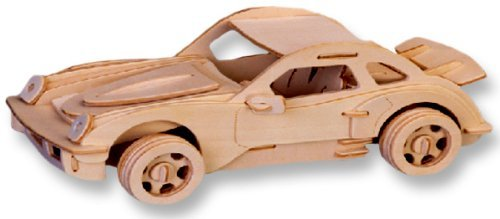 Car Model P-911 Affordable Gift for your Little One 3-D Wooden Puzzle Item #DCHI-WPZ-P066 by All4LessShop