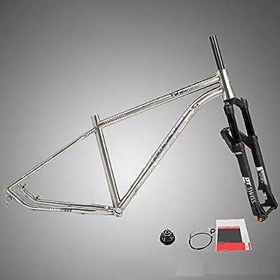 Soporte para bicicleta Marco de montaña de aleación de titanio con ...