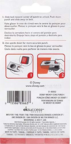 EK SUCCESS/AMERICAN CRAFTS 51-80002 EK Disney Punch Mickey Ear, Gray