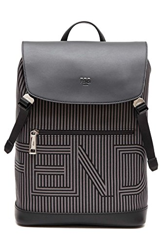 Fendi Men's 7Vz031ommf07al Black Polyamide Backpack