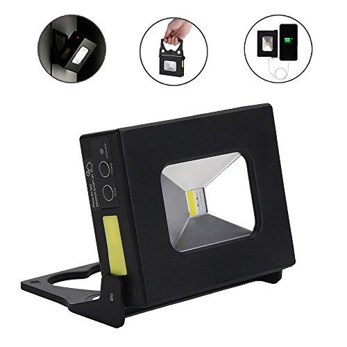 Led Flood Light Flashing: Portable Flood Light,Outdoor LED Pocket Floodlight 10W