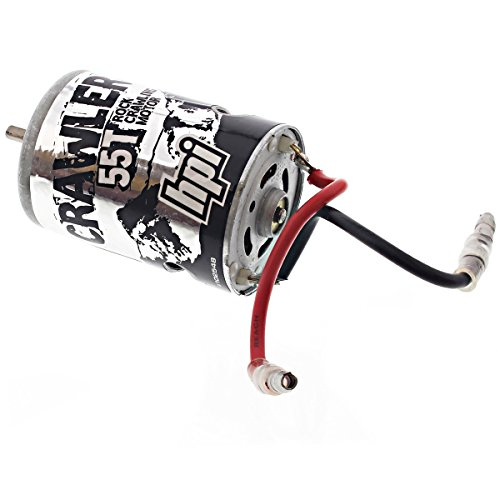 HPI 1/10 Crawler King * 55T BRUSHED CRAWLER MOTOR * Capacitor 4mm Bullet 55 Turn