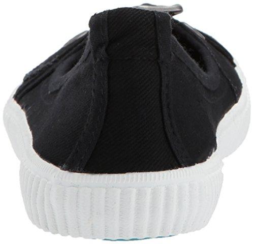 Blowfish Dames Saffron Fashion Sneaker Black Heavy Twill