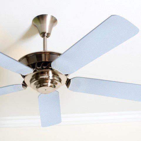 Fancy Blade Ceiling Fan Accessories Blade Cover Decoration, Solid (Ceiling Fan Blade Covers)