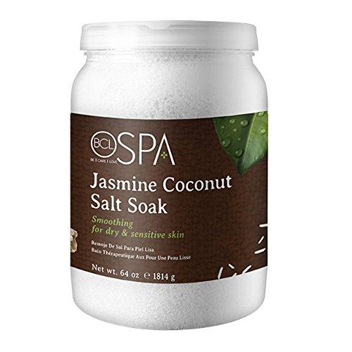 Bio Creative Lab BCL Spa Jasmine Coconut Salt Soak, 64 Ounce
