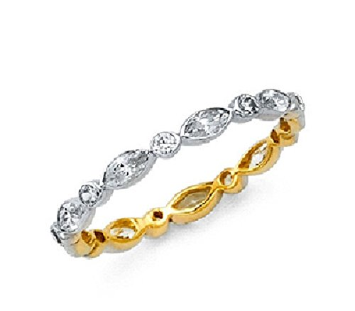 Yellow Gold Stackable - 8