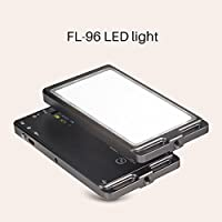 Sunwayfoto FL-96 Aluminum Ultra Thin LED Video Light Photography Fill Light 3000k-5500k LED adjustable color temperature stepless output control