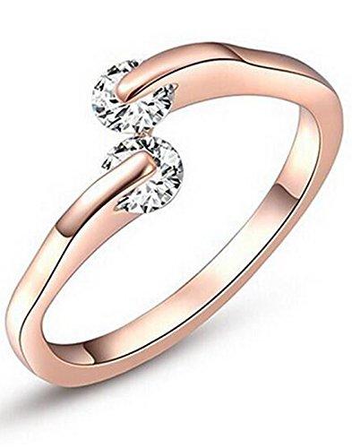 Karatcart Premium Rose Gold Plated Trendy Elegant Austrian Crystal