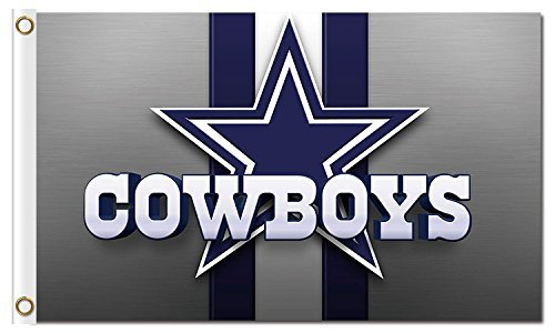 New Dallas Cowboys Flag, Exclusive NFL Merchandise for Indoor/ Outdoor Use, 100% Polyester, 3 x 5 Ft