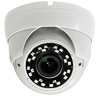101AV 1080P True Full-HD Security Dome Camera 2.8-12mm Variable Focus Lens 2.4Megapixel STARVIS Image Sensor IR in Outdoor WDR OSD Works w 1080P TVI 1080P AHD 1080P CVI Standard Recorder only