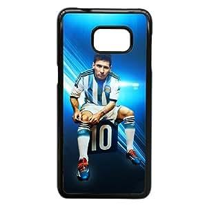 Samsung Galaxy S7 Phone Case Black Barcelona soccer player Lionel Messi Case Cover PP7U371968