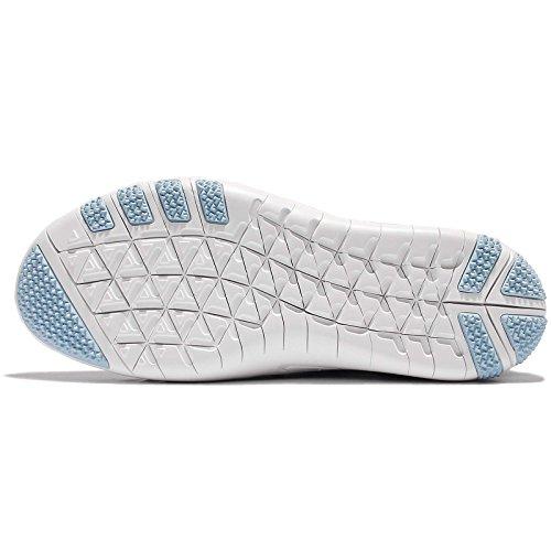 Nike Womens Wmns Free Tr Focus Flyknit, Sqdrn Blu / Bl Tnt-blcp-ocn Fg, 9.5 Us