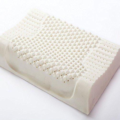 Latex pillow/thai child health care neck pillow/massage pillow-A 40x60cm(16x24inch) by JGXVUYKDFV