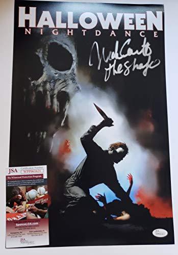 Nick Castle autographed 11x17 photograph Halloween Michael Myers H1 - Autographed Castle