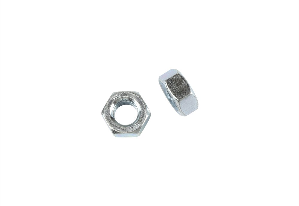 50 Stk DIN 934 Sechskantmutter M7 - Stahl verzinkt - Festigkeit 8 Schrauben.Expert