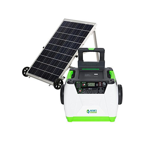 - Nature's Generator - 1800W Solar & Wind Powered Generator - Gold System