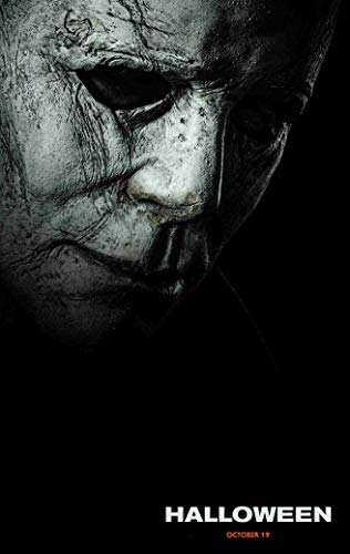 bribase shop Halloween Poster Movie Promo 36 x 24 inches 2018 Mask