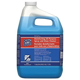 Spic and Span Disinfecting All-Purpose Spray and Glass Cleaner, Fresh Scent, 1 gal Bottle (1 Bottle) - BMC-PGC 58773EA