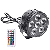 YICIX LED Stage Light/Spot Light DMX 512 / Master-Slave/Sound-Activated for Party/Stage/Bar Easy Carrying/Lightweight
