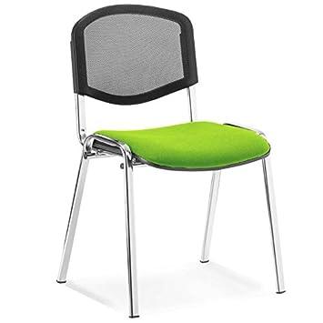 Next Day Office Chairs Adidas ISO Bürostuhl, Chrom Rahmen