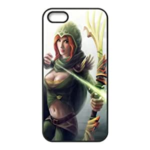 World Of Warcraft iPhone 5 5s Cell Phone Case Black 91INA91562869