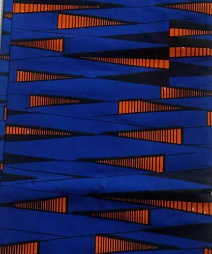 African Ankara Fabric Fabric #8- One Yard Cotton 44