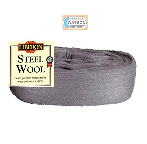 Liberon 2 Metre Cut Length 2M 00 Super Fine Grade Steel Wire Wool by Liberon