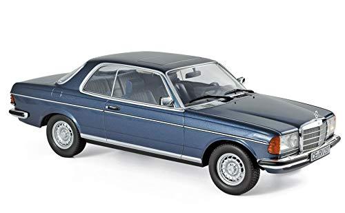 Norev 1980 Mercedes Benz 280 CE Coupe Blue Metallic 1/18 Diecast Model Car 183589