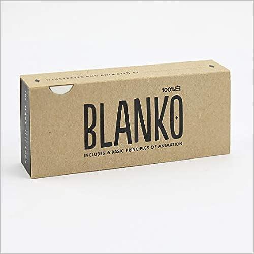 Un Flipbook dAnimation Freestyle Blanko