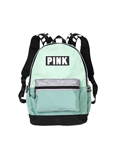 Victorias Secret Pink Campus Backpack Mint/ White PINK Logo