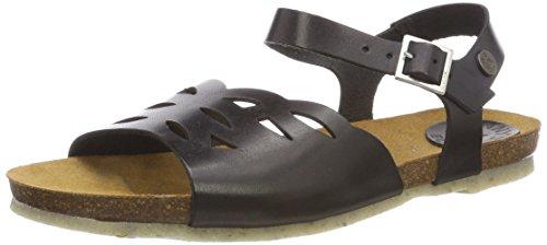 Black Naja Jonny's 001 Black Open Sandals Toe WoMen 5YxxSfaq