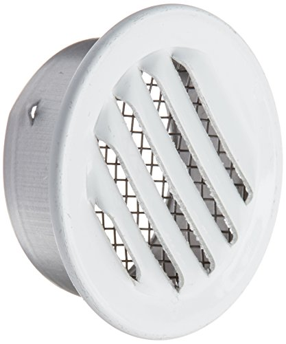 Maurice Franklin Louver RLW-100 1 Mini Louver (6 Pack), 1, White