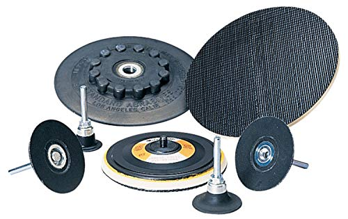 Disc Backing Pad - 2 in Pad Diameter, 1/4 in Shank Diameter (4 Units)