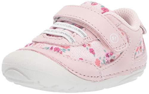 Stride Rite Soft Motion Jazzy Girl's Casual Sneaker, Pink Multi, 5 W US Big Kid (Stride Girls 5w Rite)