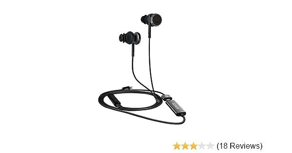 Scenes Lifelike VR Recording Headphones with Built-in Binaural 3D Audio  Microphones ASMR, in-Ear Earbuds, Apple iOS ONLY, No Extra App Needed, Black