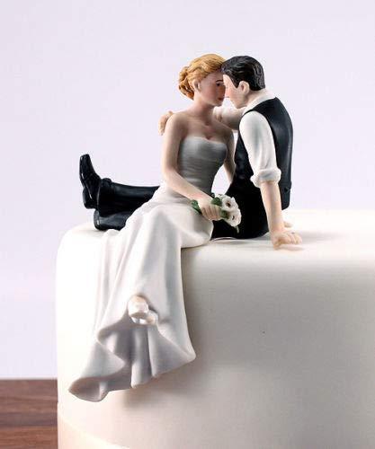 BeesClover Romantic Look of Love Bride and Groom Wedding Cake Topper, Bodas Bonecos Decoracion,Topo de Bolo Casamento, Cakes Wedding Topper Show